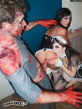 Burning Angel Zombie Porn Dong of the Dead