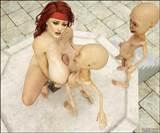 cartoon alien fuck 3d girl