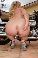 Cassie Blanca puts her big butt on a bike from XL Girls