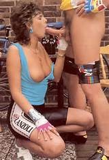 seventies bicycle lady receives a sticky facial this is the porn you ...