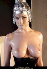 Dita Von Teese Body Paint