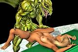 Lusty Blonde Babe Fucked Senseless By A Giant Lizard At 3dEvilMonsters