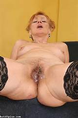 REDHEAD GRANNY LADY from Hot 60 Plus