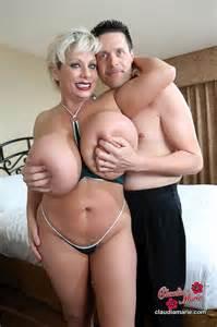Huge Fake Tits Porn MILF Claudia Marie