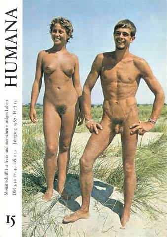 Nudist Magazine Cover 1967